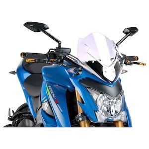 Puig Naked New Generation Windscreen Suzuki GSXS 1000 2016-2018