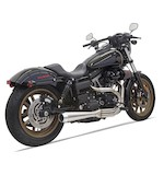 Bassani Road Rage III 2-Into-1 Exhaust For Harley Dyna 1991-2017