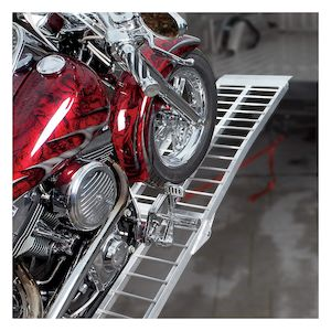 Trackside Heavy Duty Wide Aluminum Folding Ramp