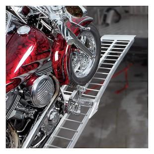 Trackside Heavy Duty Wide Aluminum Folding Ramp