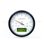 Motogadget Motoscope Classic Tachometer and m-TRI Signal Adapter Triumph Speed Triple R 2012
