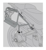 Givi PLR7406CAM Rapid Release Side Case Racks Ducati Multistrada 2015-2016