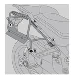 Givi PLR7406CAM Rapid Release Side Case Racks Ducati Multistrada 2015-2016