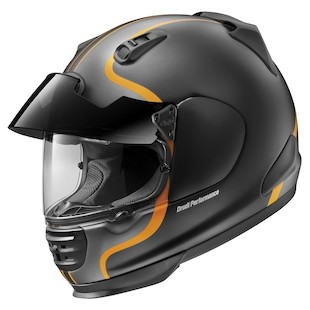 Arai Defiant Pro-Cruise Bold Helmet Orange / MD [Blemished - Very Good]
