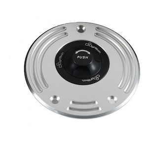 LighTech Quick Release Gas Cap BMW S1000RR / S1000R Silver [Previously Installed]
