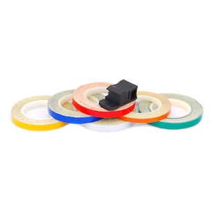 Speedmetal 7MM Wheel Stripe Reflective Tape With Applicator