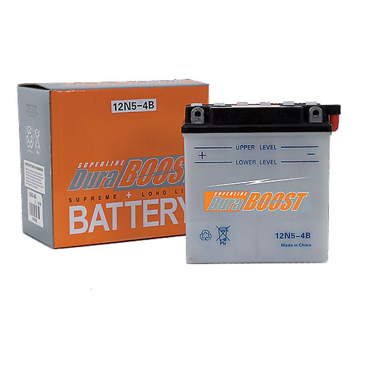 Duraboost Conventional Battery 12N12A-4A-1