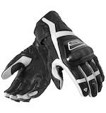 REV'IT! Stellar Gloves Black/White / 2XL [Demo - Good]