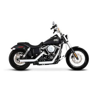 Rinehart Kick Backs Exhaust For Harley Dyna 2006-2017