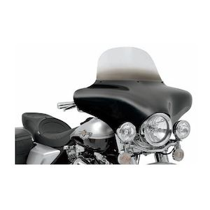 """Memphis Shades Windshields For Batwing Fairings Blue / 12"""" [Blemished - Very Good]"""