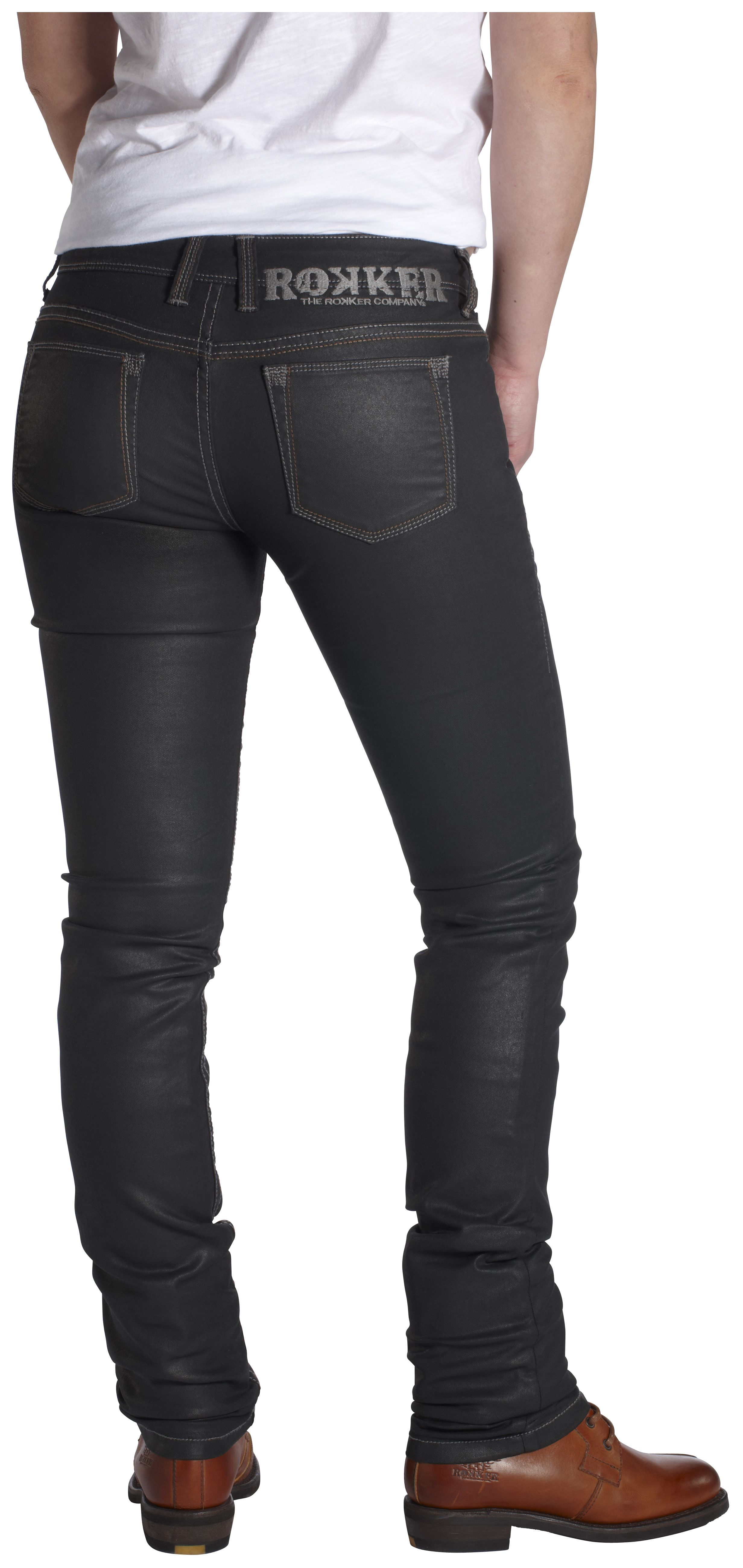 Rokker Diva Black Women's Jeans
