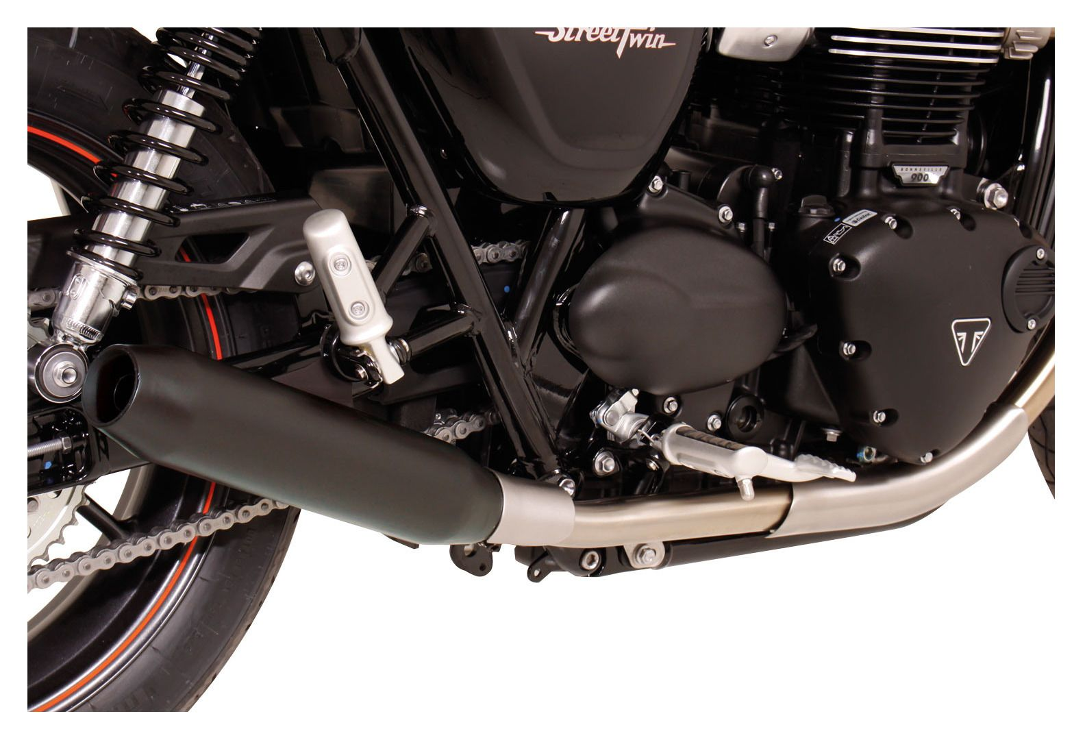 Remus Custom Tapered Slip On Exhaust Triumph Bonneville Street Twin