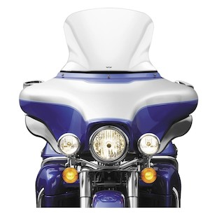 """National Cycle VStream Windshield For Harley Touring 1996-2013 Clear / 17"""" [Previously Installed]"""