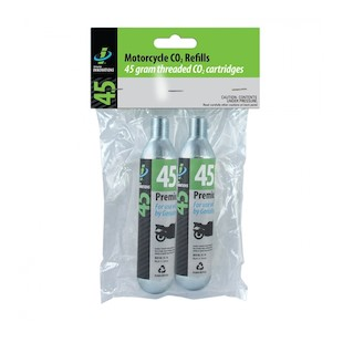 Genuine Innovations 45 Gram Threaded CO2 Refill Cartridges