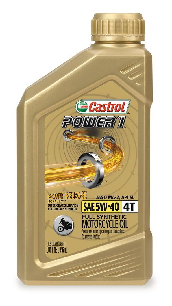 Castrol Power 1 Synthetic 4t Engine Oil Revzilla