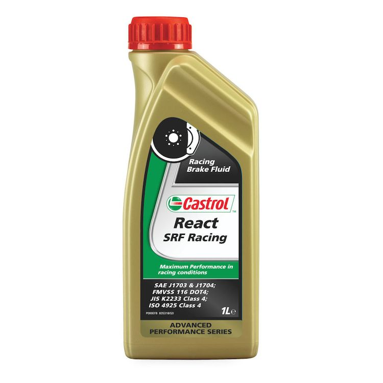 Castrol SRF React Racing Brake Fluid