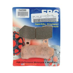 EBC Brakes Double-H Sintered Front / Rear Brake Pads For Harley Touring / V-Rod 2008-2020