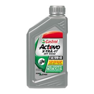 Castrol Actevo X-TRA Off Road Semi-Synthetic 4T Engine Oil