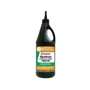 Castrol Syntrax Limited Slip 75W-90 Gear Oil