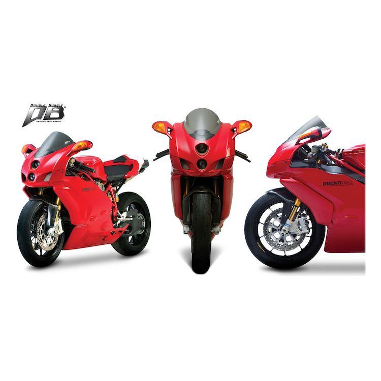 Zero Gravity Double Bubble Windscreen Ducati 749 / 999 2005-2007 Clear [Previously Installed]