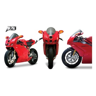 Zero Gravity Double Bubble Windscreen Ducati 749 / 999 2005-2007 Clear [Previously Installed]
