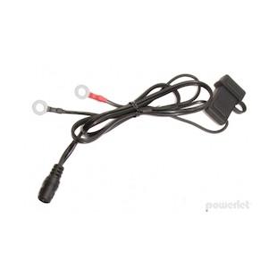 """Powerlet Coax Battery Lead (Standard Duty 15 Amp 26"""")"""