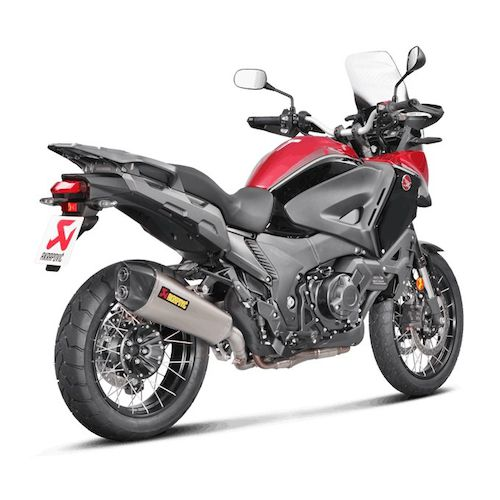 akrapovic slip on exhaust honda vfr1200x crosstourer 2016. Black Bedroom Furniture Sets. Home Design Ideas