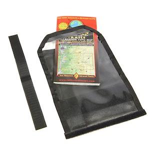 Wolfman Blackhawk Tank Bag Map Pocket