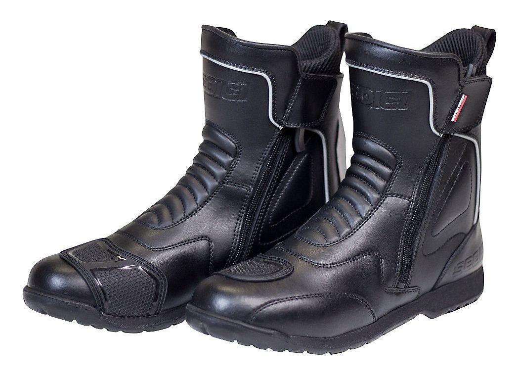 Black Freelander WP Touring Motorcycle Boots