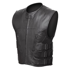 Street & Steel Assault Leather Vest