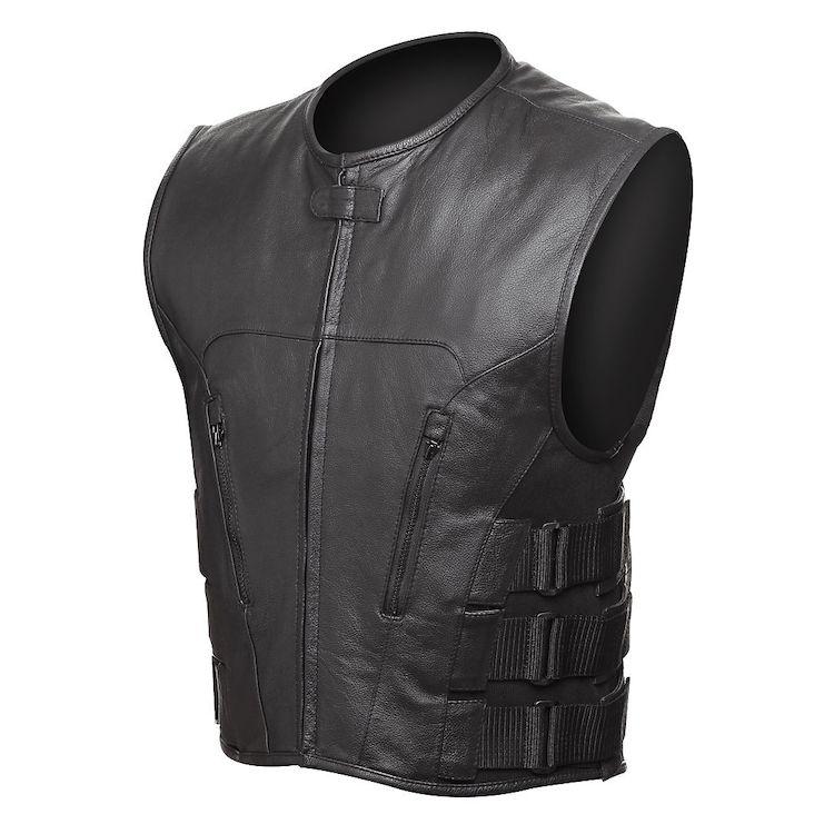 Street & Steel Assault Leather Vest