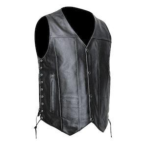Dakota Streetamp; Leather Vest Steel wOk0Pn8