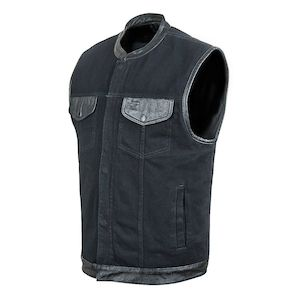 Street & Steel Redwood Denim Vest