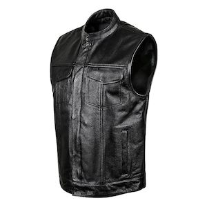 Street & Steel Redwood Leather Vest