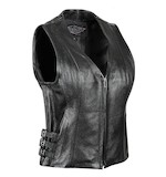 Street & Steel Dark Star Women's Leather Vest