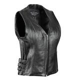 Street & Steel Dark Star Women's Leather Vest
