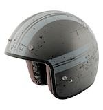 Street & Steel Silver Streak Helmet