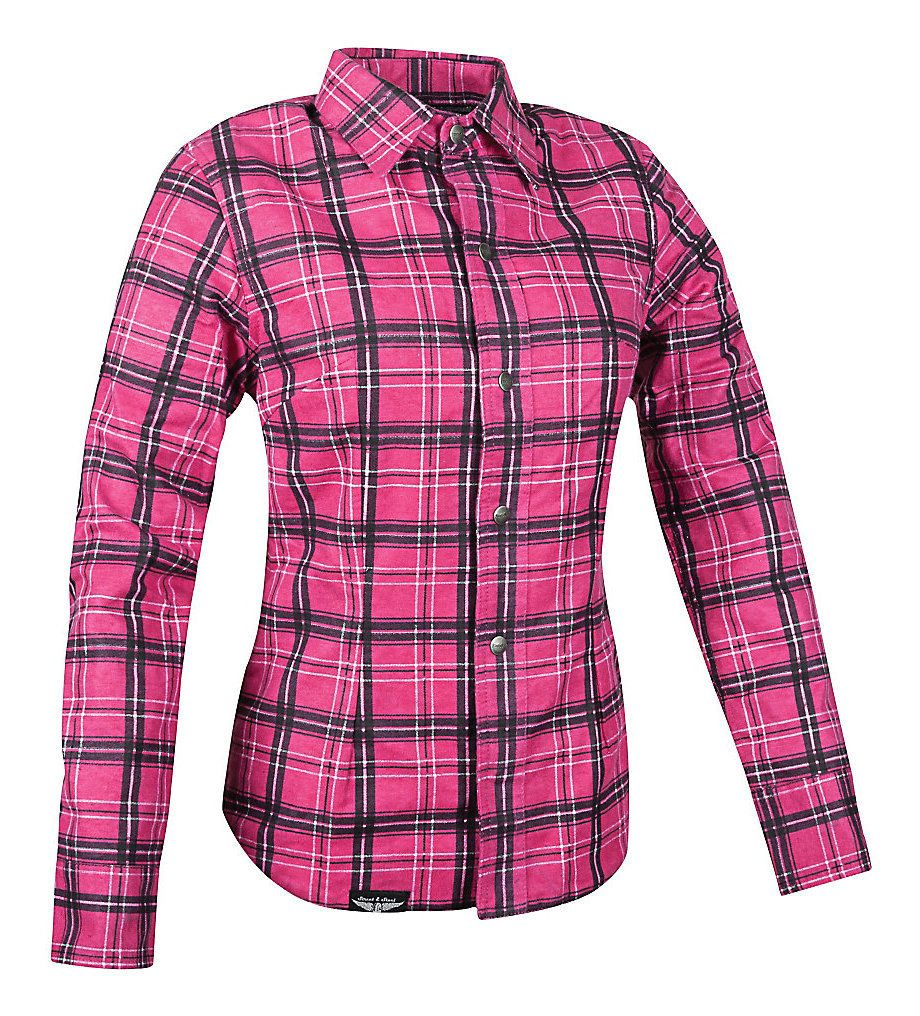 Street steel gastown women 39 s armored flannel shirt for Places to buy flannel shirts