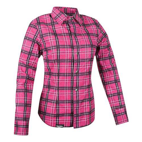 Street & Steel Gastown Women's Armored Flannel Shirt - RevZilla
