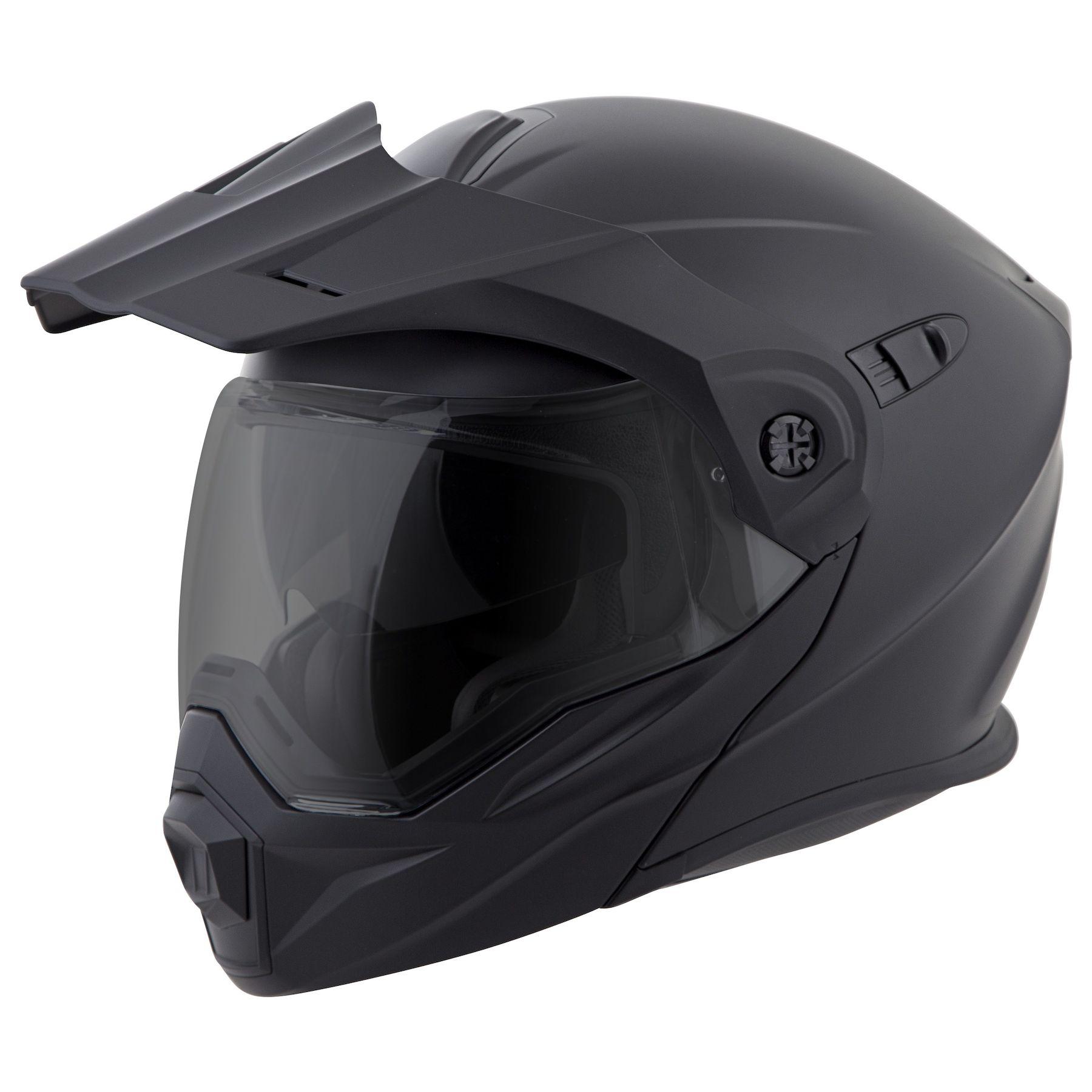 Matte Black//One Size Scorpion Peak Visor Exo-AT950 Motorcycle Helmet Accessories
