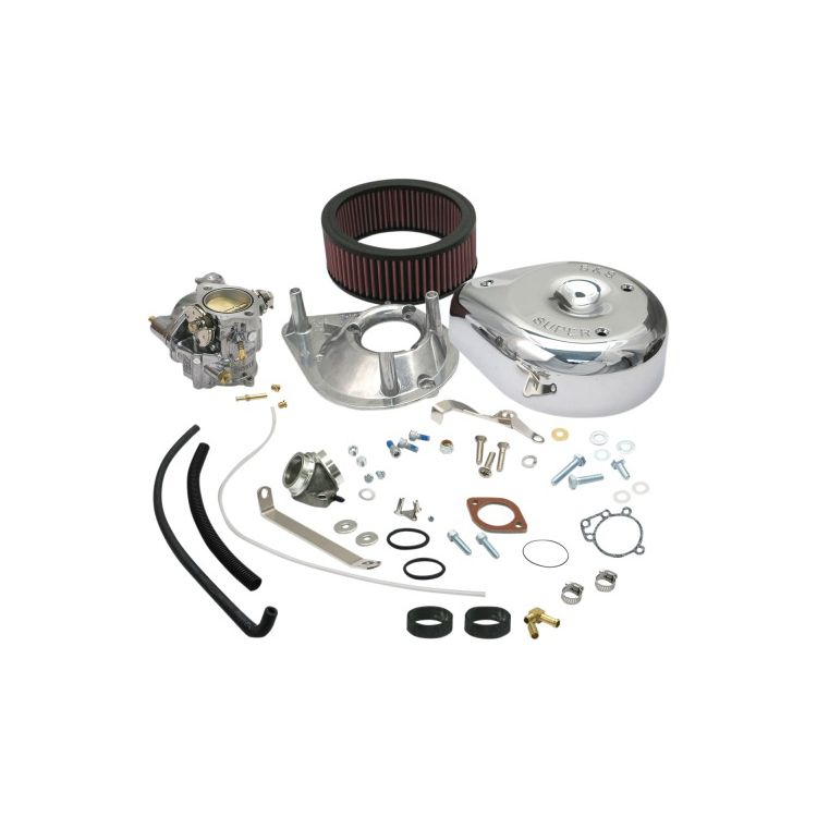 S&S Cycle Super E Carburetor Kit For Harley Sportster 1979-1985