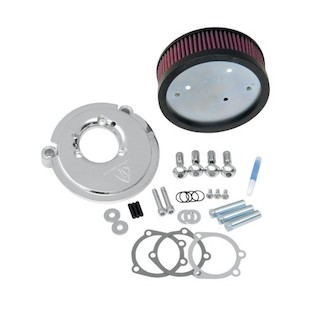 Arlen Ness Naked Stage 1 Big Sucker Air Cleaner For Harley Sportster 1991-2016 Chrome / For OEM Covers [Previously Installed]