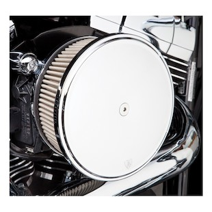 Arlen Ness Stage 2 Big Sucker Air Cleaner Kit For Harley Twin Cam 1999-2016 Stainless Jacketed Air Filter / Smoot... [Previously Installed]