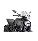 Puig Naked New Generation Windscreen Ducati Diavel 2014-2016 Smoke / Touring [Previously Installed]