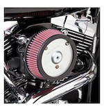 Arlen Ness Naked Stage 1 Big Sucker Air Cleaner For Harley Evolution 1993-1999