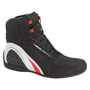Dainese Women's Motorshoe D-WP Black/White/Red / 41 [Demo - Good]