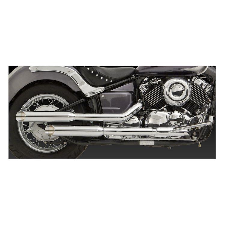 Vance & Hines Cruzers Exhaust Yamaha V-Star 650 2004-2010