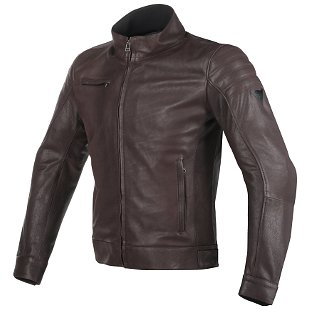 Dainese Bryan Leather Motorcycle Jacket
