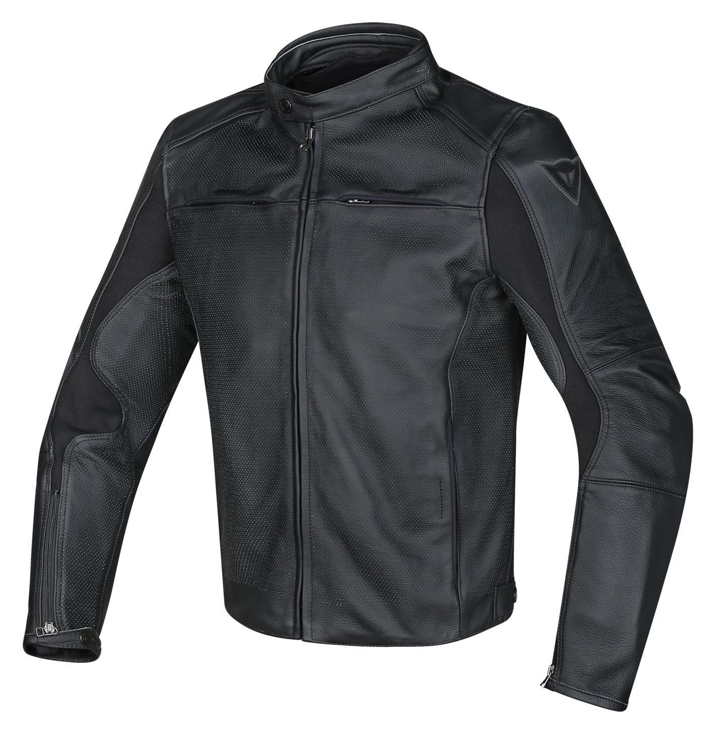 dainese razon perforated leather jacket - revzilla
