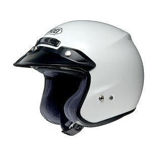 Shoei RJ Platinum-R Helmet White / SM [Open Box]